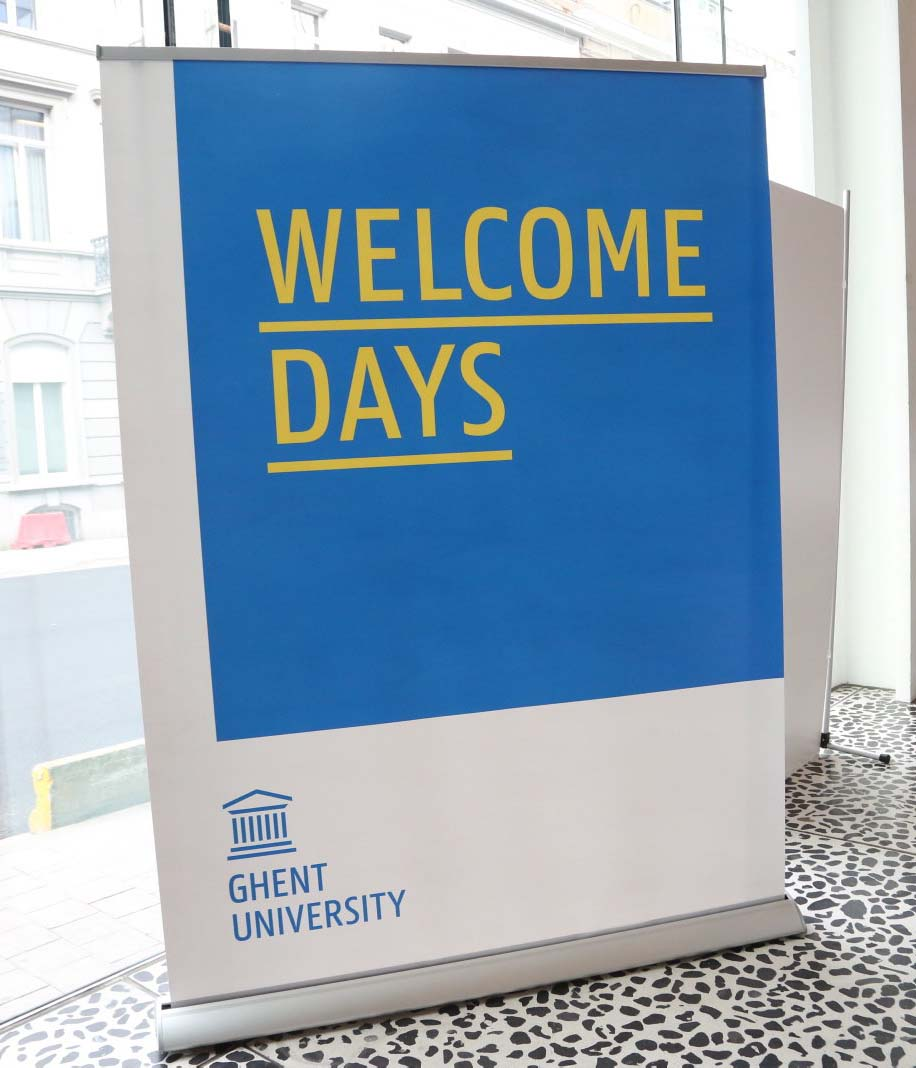Banner Welcome Days